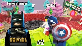 ICE CREAM SURVIVAL !! - Lego world ( ft Furious_jumper )