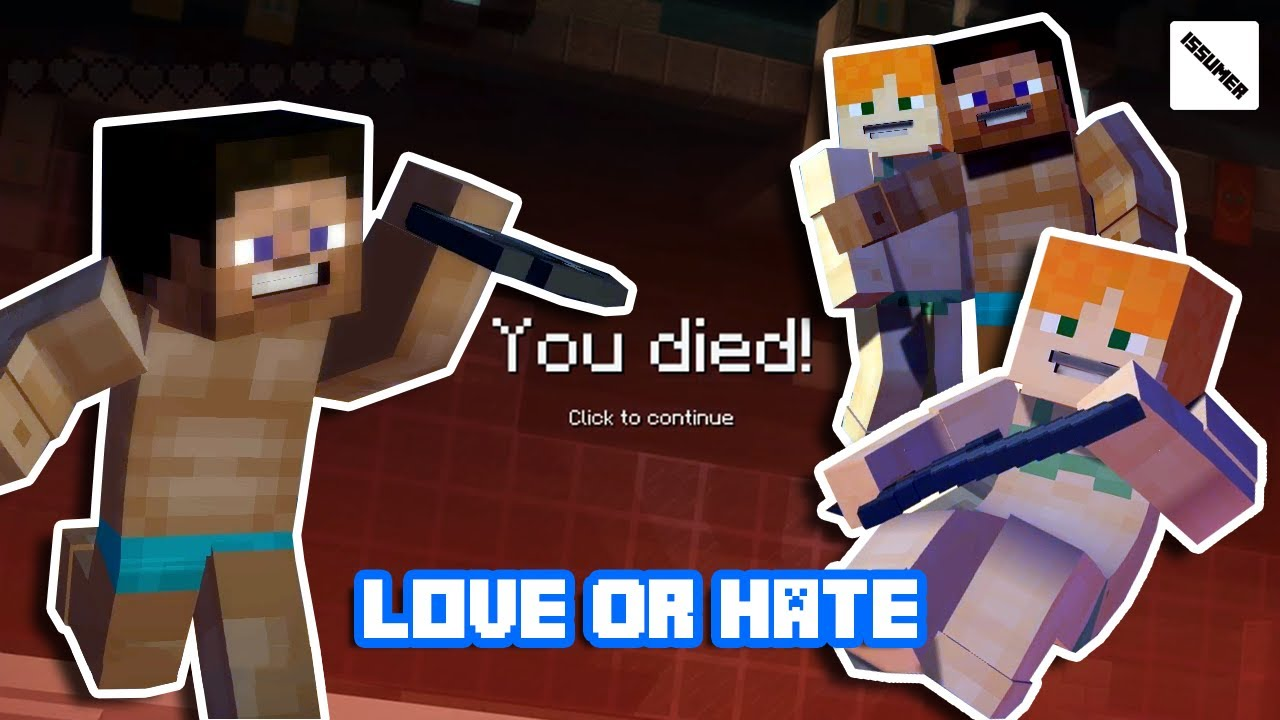 Alex Loves Or Hates Steve Minecraft Story Mode Summer Swimsuit