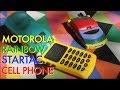 1996 Motorola Rainbow StarTAC (WORKING IN 2018)