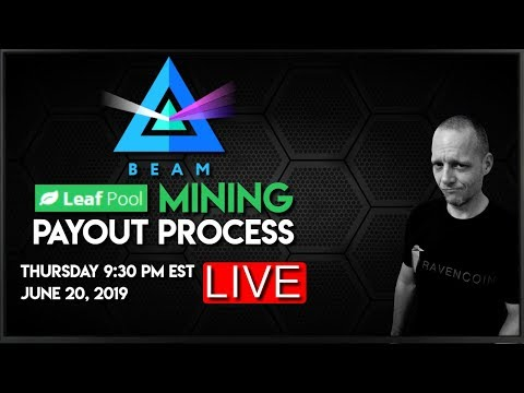 Beam (Beam) Payout Process From Leaf Pool ⛏ - CoinGecko TV