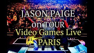 Jason Paige on  Games Live Tour-Day One-Paris