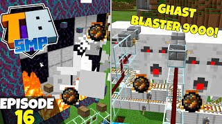Truly Bedrock S2 Ep16! Auto GHAST BLAST CHAMBER! Bedrock Edition Survival Let's Play!