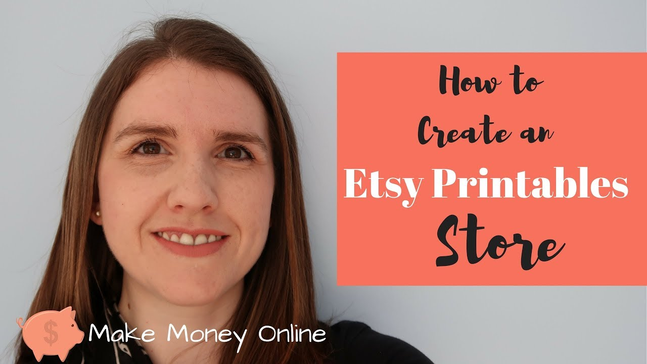 How to Open an Etsy Shop Store in 1 Night - Starting an Etsy Shop Tutorial - Make Money Online