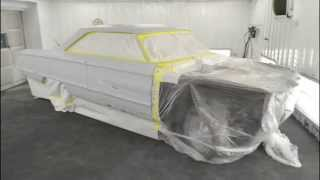 V8TV Quick Shop Update Video - 1964 Ford Galaxie Gets Painted Today!