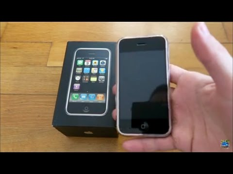 Apple iPhone 1st Generation Unboxing & Review 2017!