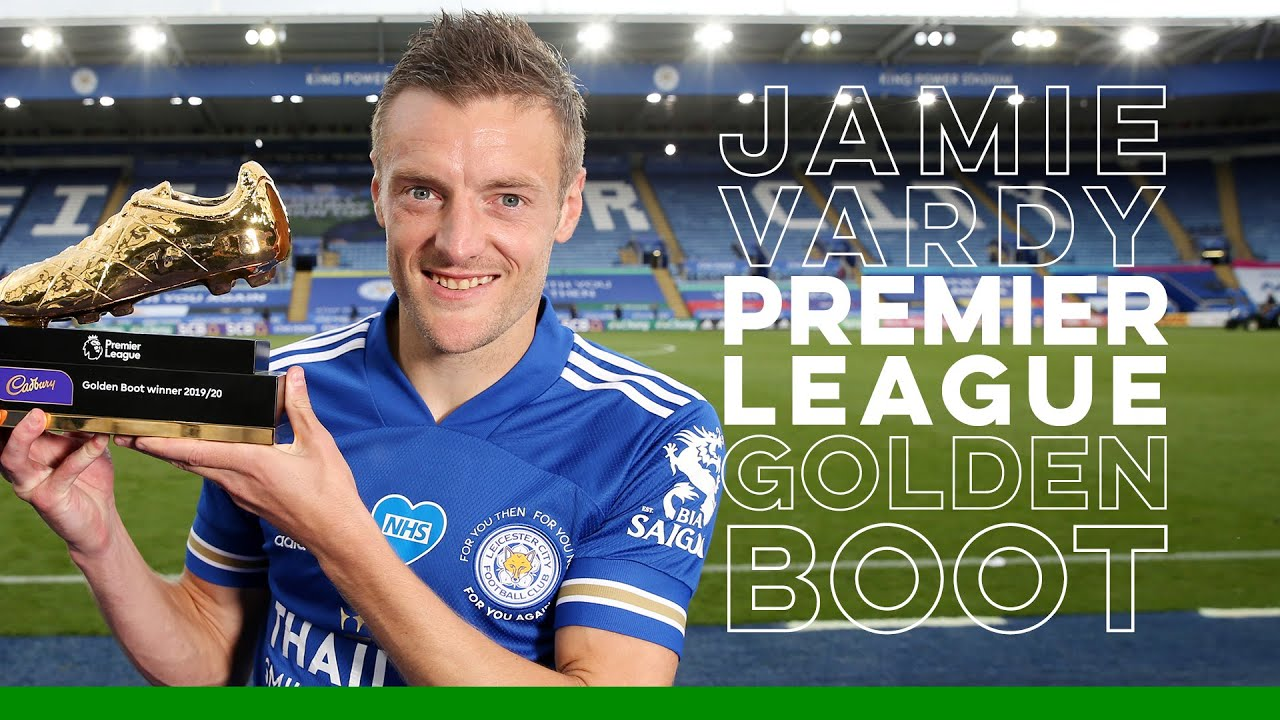 Golden Boot Winner | All 23 Jamie Vardy Premier League Goals ...