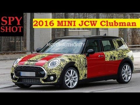 2016 Mini Jcw Clubman Spy Shot Youtube