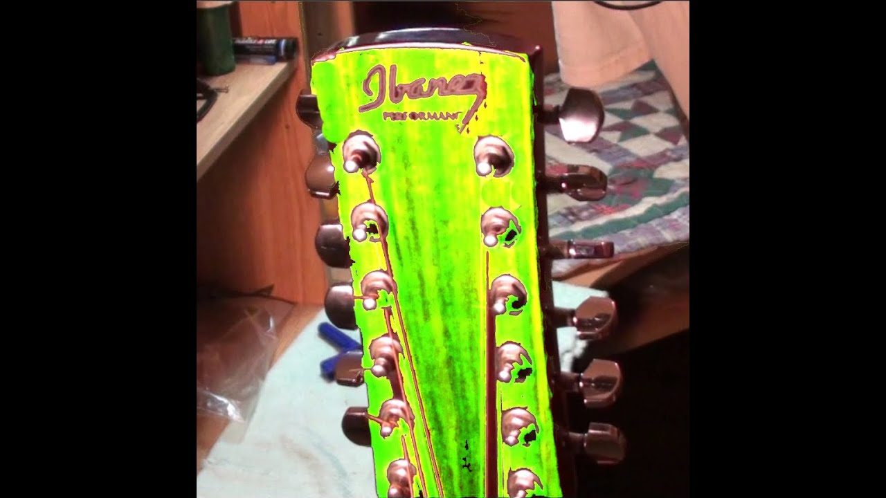 ibanez performance pf5 12nt 12 string guitar bridge removal and re glue part 1of 2 youtube. Black Bedroom Furniture Sets. Home Design Ideas
