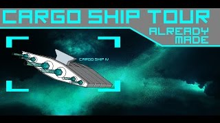 C6 Cargo Ship Tour