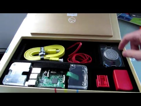 Kano Computer Kit unboxing & first look (Raspberry Pi 3 kit for kids)