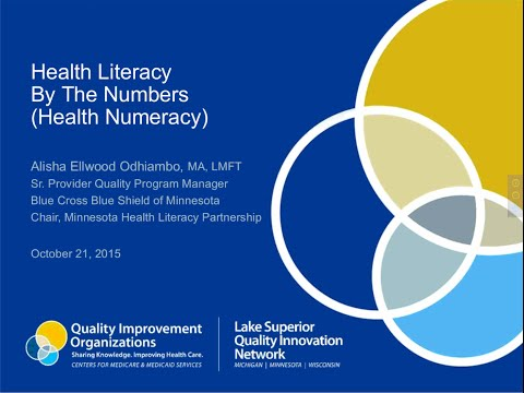 Health Literacy By The Numbers