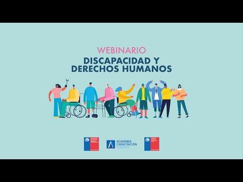 """Webinario """"Discapacidad y Derechos Humanos"""""""