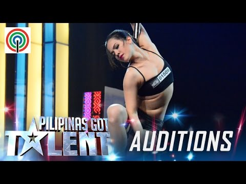 Pilipinas Got Talent Season 5 Auditions: Celine Venayo – Pole Dance