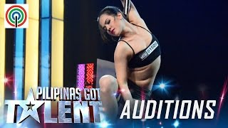 Pilipinas Got Talent Season 5 Auditions: Celine Venayo - Pole Dancer(Subscribe to the ABS-CBN Pilipinas Got Talent channel! - http://bit.ly/1REigeY Visit our official website! http://pilipinasgottalent.abs-cbn.com Facebook: ..., 2016-01-31T13:53:05.000Z)