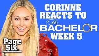 The Bachelor Recap: Corinne Olympios Reacts to Top Moments from Week 5 of Season 23 | Page Six