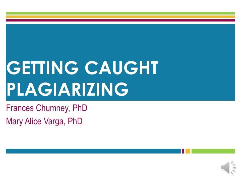 how to not get caught plagiarizing