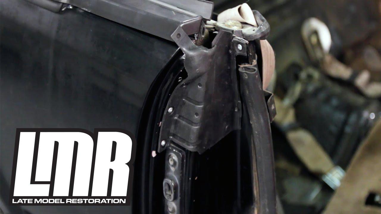 Mustang Convertible Weatherstrip Install B Pillar Quarter