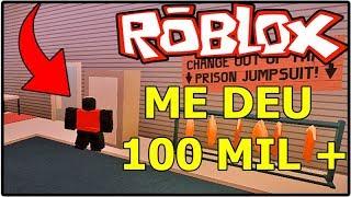 GAVE ME 100 THOUSAND + MONEY IN JAILBRAK!! ROBLOX
