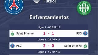 Previa PSG vs Saint Etienne - Jornada 5 - Ligue 1 2018 - Pronósticos y horarios
