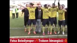 Fatsa Beledİyespor : 1  Trabzon İdmangÜcÜ : 0