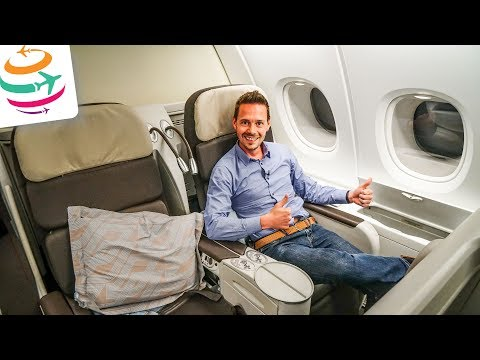 Air France Business Class A380 (ENG)   GlobalTraveler.TV
