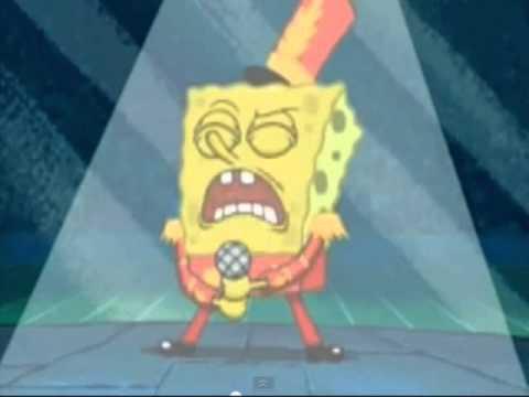 video spongebob ngaca dulu deh