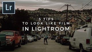 5 نصائح لجعل صورك تبدو أكثر مثل فيلم في لايت