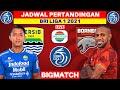 Jadwal BRI Liga 1 2021 - Persib vs Borneo FC - Live Indosiar