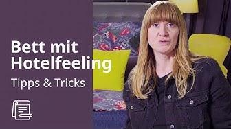 Schlafzimmer dekorieren im Hotellook | IKEA Tipps & Tricks