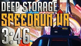 "Destiny 2 - ""Deep Storage"" Mission Speedrun WR! (3:46)"