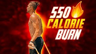 550 Calorie Burn Jump Rope Workout (BURN SERIES)