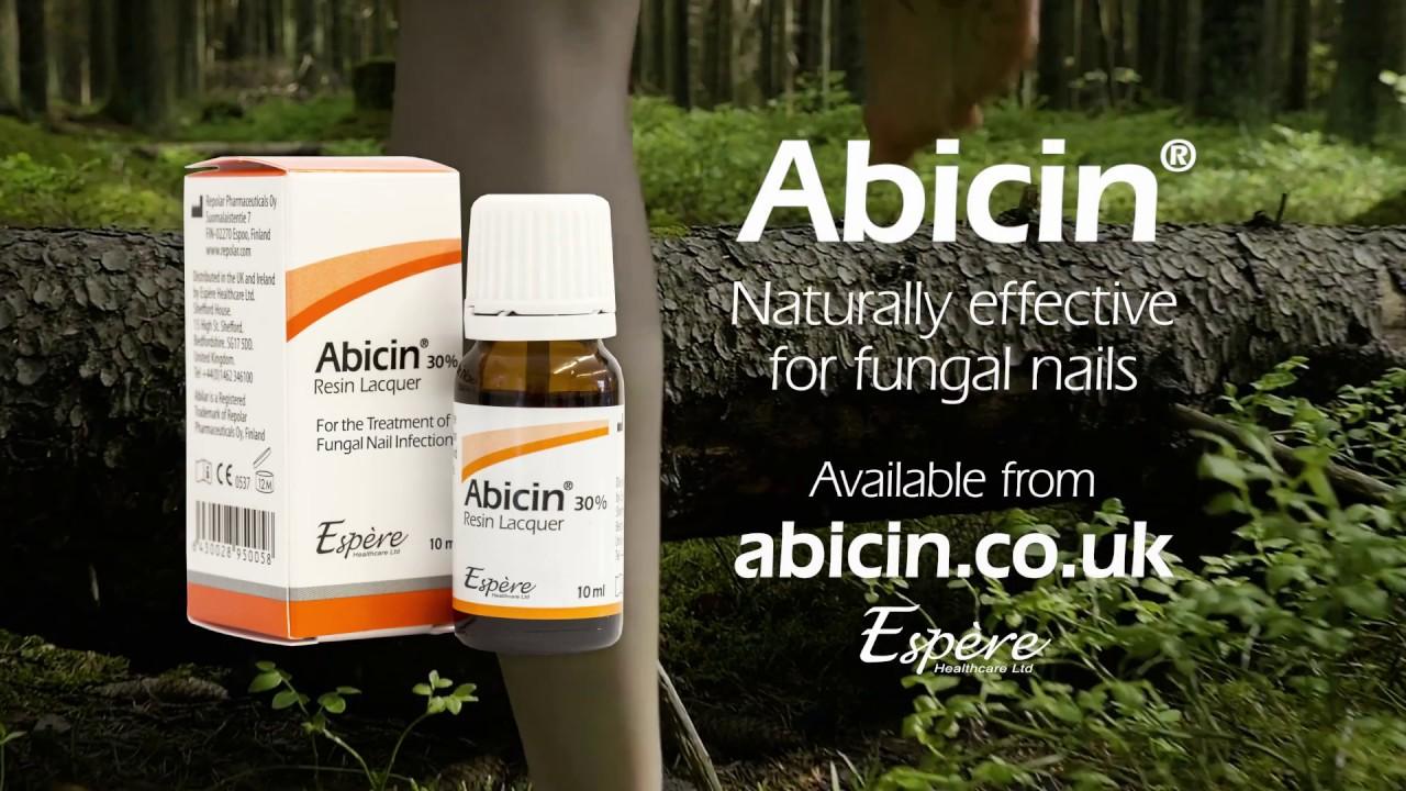 Abicin Nail Lacquer - YouTube
