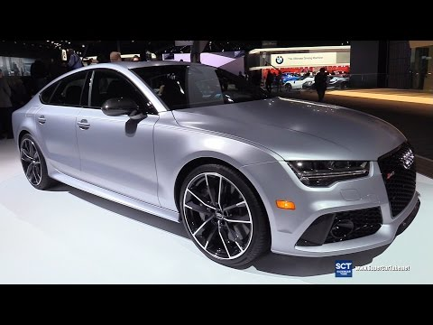 2017 Audi RS7 Sportback - Exterior and Interior Walkaround - 2017 Detroit Auto Show