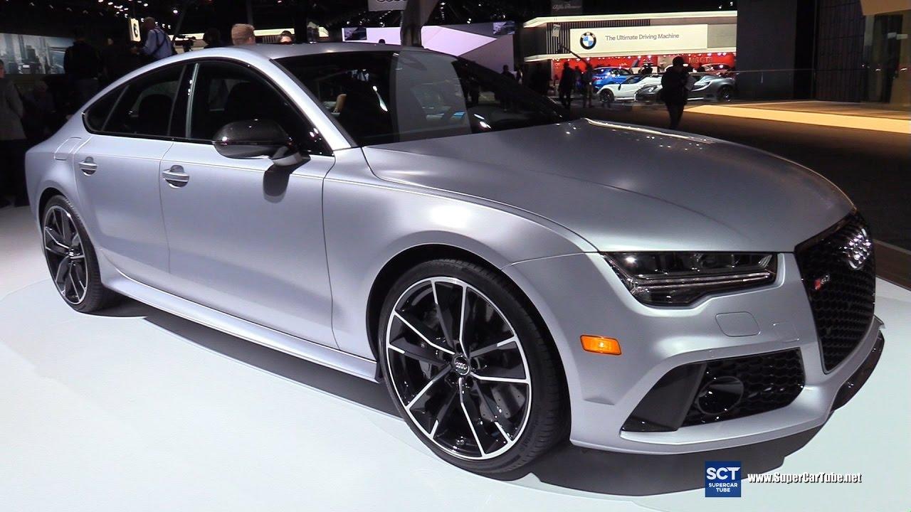 2017 audi rs7 sportback exterior and interior walkaround 2017 detroit auto show youtube. Black Bedroom Furniture Sets. Home Design Ideas