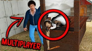 10 Funniest Moments in Granny Horror Game MULTIPLAYER || Experiments with Granny Mobile Horror Game