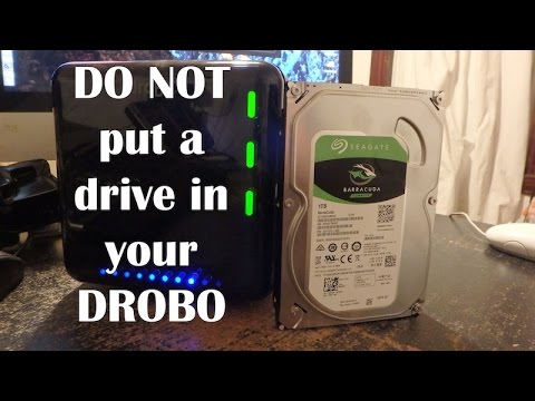 why you shouldn t put a new drive in your drobo