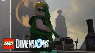 LEGO Dimensions - Green Arrow (Limited Edition) Free Roam With Commentary