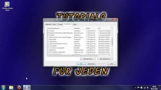 Windows Media Player und andere Dienste anpassen
