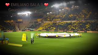 Hommage a Emiliano Sala Lors Du Match FC Nantes - Saint Etienne [Édition Spéciale]