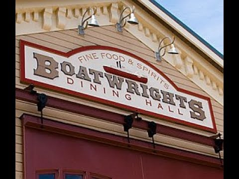 Dinner at Boatwright's Dining Hall - Port Orleans Riverside