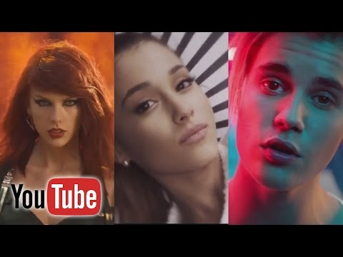 Top 100 Most Viewed Music Videos Of All Time - YouTube (August 2016)