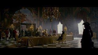Король Георг II встречается с Джеком. Гектор Барбосса. HD