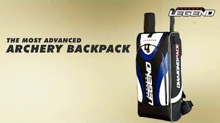 Legend Archery - Diamond archery backpack for Recurve Bows