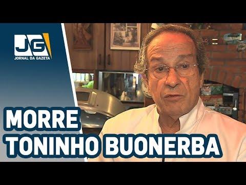 Morre Toninho Buonerba, criador do polpettone