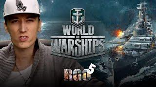 'RAPGAMEOBZOR 5' — World of Warships