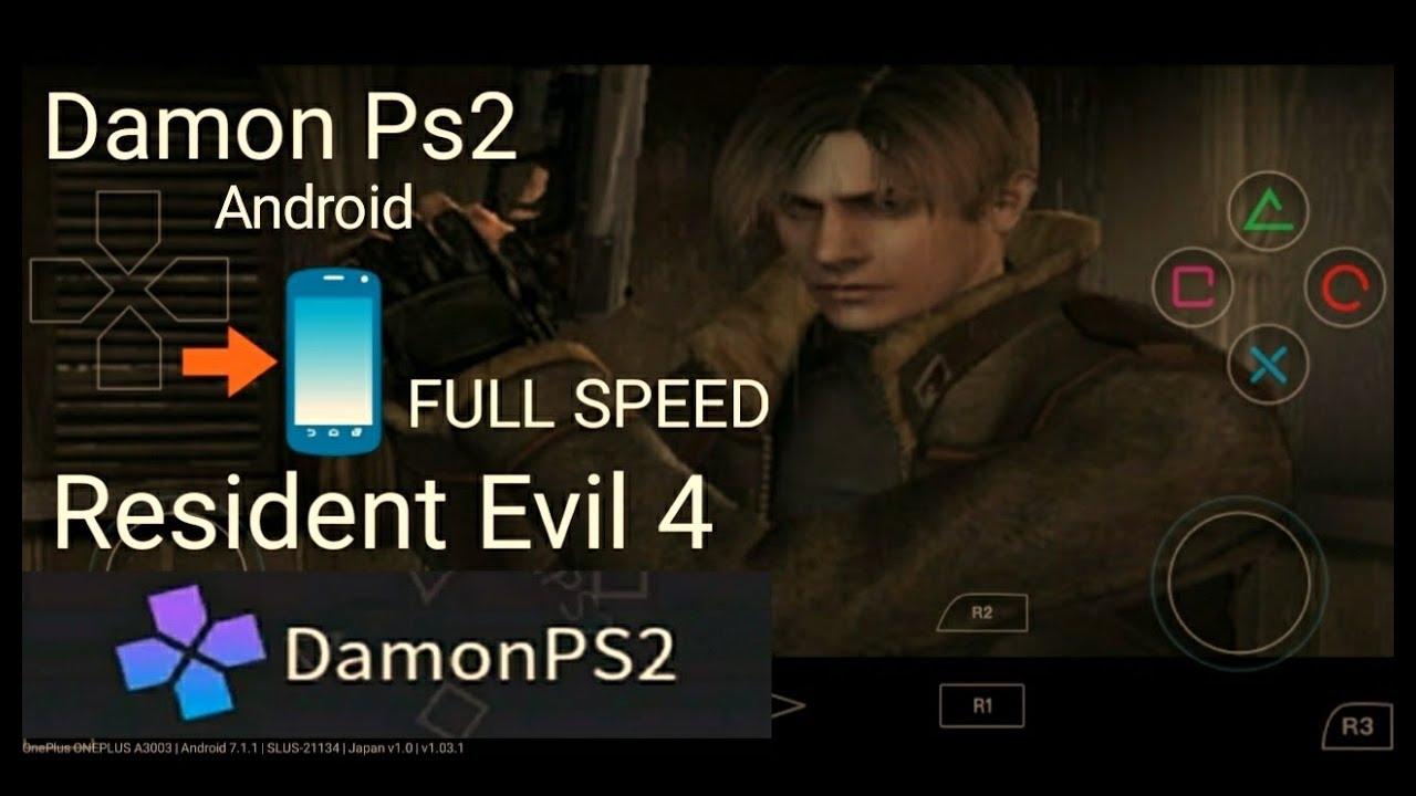 Damon ps2 pro resident evil 4 full speed gameplay by Pannu Thakur