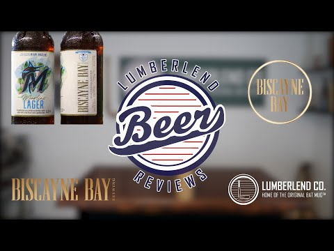 """the-miami-marlins-official-craft-beer-""""marlins-lager""""---lumberlend-beer-review-#1"""