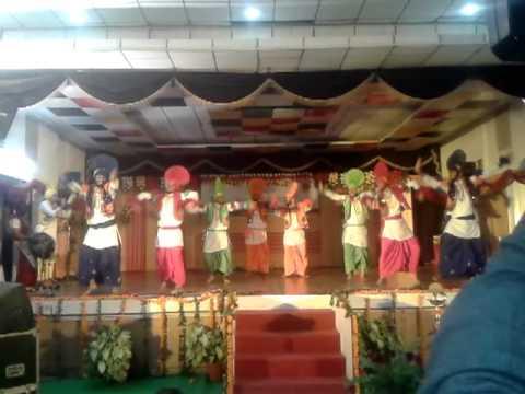 DAVIET bhangra @PTU Youth Festival 2012(winner)