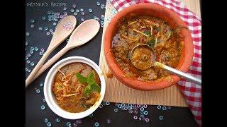 শাহী মাটন হালিম    Bangladeshi Restaurant style Shahi Haleem Step By Step Full Video