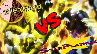 Star Platinum VS The World (Your Bizarre Adventure)